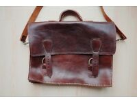 ORIGINAL LEATHER SATCHEL BAG - NEW