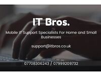 IT Support - No Fix No Fee - We Come To You! Virus? Malware? PC/Mobile Repairs? IT Help/Support?