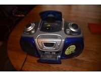 Boombox Hitachi Super Surround CD RADIO TAPE CASSETTE Player