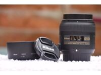 Nikon 40mm F2.8 Micro Macro DSLR Lens - Great General & Portrait Lens with Superb Macro Capability