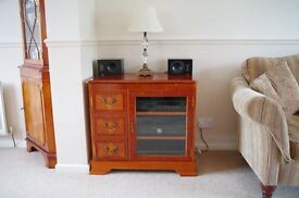 Yew Reproduction Hi-Fi / Stereo Unit