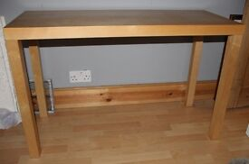 IKEA Lack Birch Coloured Console Table