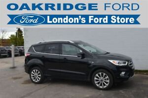 2017 Ford Escape ACCIDENT FREE, TITANIUM, HEATED LEATHER SEATS,