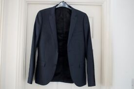 Top Man Suit Jacket and Trousers - Navy