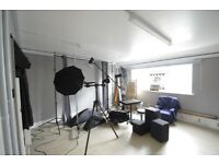 PHOTOGRAPHY or ART STUDIO FOR HIRE IN BS2
