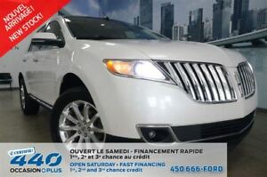 2014 Lincoln MKX   AWD, CUIR, TOIT, NAVIGATION, 8 ROUES