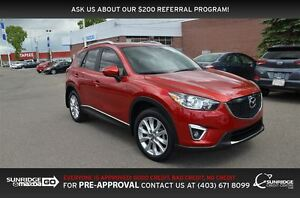 2015 Mazda CX-5 GT, AWD, HEATED SEATS, LEATHER