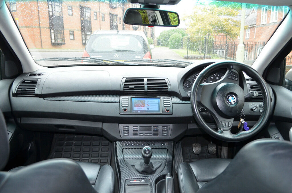 Bmw X5 With Manual Gearbox And Dynavin N6 E53 In Andover