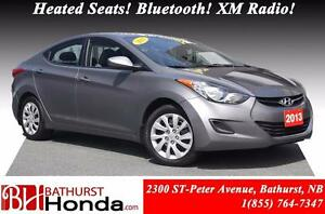 2013 Hyundai Elantra GL Heated Seats! Bluetooth! XM Radio! Power