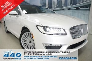 2017 Lincoln MKZ | 2.0L ECOBOOST. AWD, PEINTURE 3 COUCHES