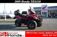 2009 Honda TRX420 Mag Wheels! Winch! Rear Seat! Power Steering!