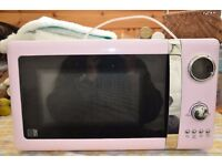 Microwave Oven - Pink