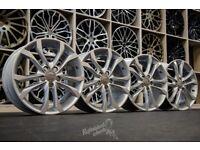 "*Refurbished* Genuine 18"" Audi S3 8P Alloy Wheels 5x112 8P0601025BM (Fits VW, Audi, Skoda, Seat)"