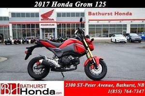 2017 Honda GROM125 Fuel efficiency + fun!!