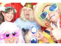 Red curtain Photo booth hire! Christmas party Photobooth offer! Weddings, birthdays & events!