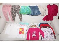 Girl Large Clothes Bundle 3 -5 years branded +50 pieces