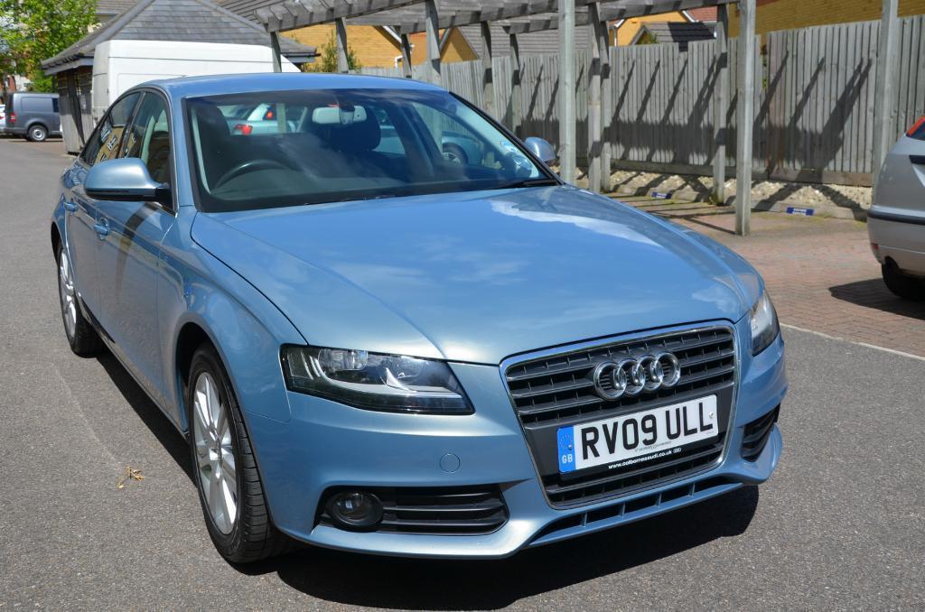 Audi a4 2009 Blue Audi a4 2009