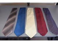 Five mens Ties