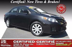 2012 Toyota Corolla CE Certified! New Tires & Brakes!