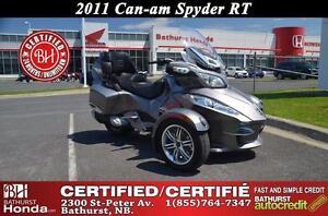 2011 Can-Am Spyder RT MINT CONDITION!! Bathurst Honda Certified!