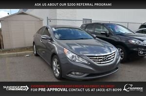 2011 Hyundai Sonata Limited w/Navi, HEATED SEATS, LEATHER, BACKU