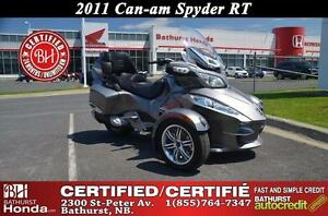 2011 Can-Am Spyder RT MINT CONDITION!! Bathurst Honda Certified!