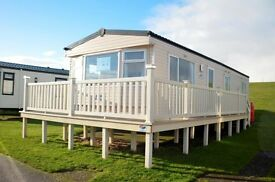 3 Bedroom Caravan with fantastic sea views across the Solway Firth,Southerness Holiday Park,Dumfries
