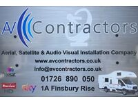 Satellite and Aerial Installation, Service and Repair in Cornwall