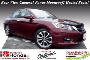 2015 Honda Accord Sedan Sport Honda Certified! Rear View Camera!
