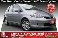 2008 Honda Fit LX New Tires! One-Owner! Clean Carfax! Cruise Con