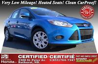 2013 Ford Focus SE Very Low Mileage! Heated Seats! Cruise Contro