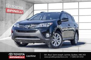 2013 Toyota RAV4 LIMITED CAMÉRA DÉMAREUR 90 DAYS WITHOUT PAYMENT