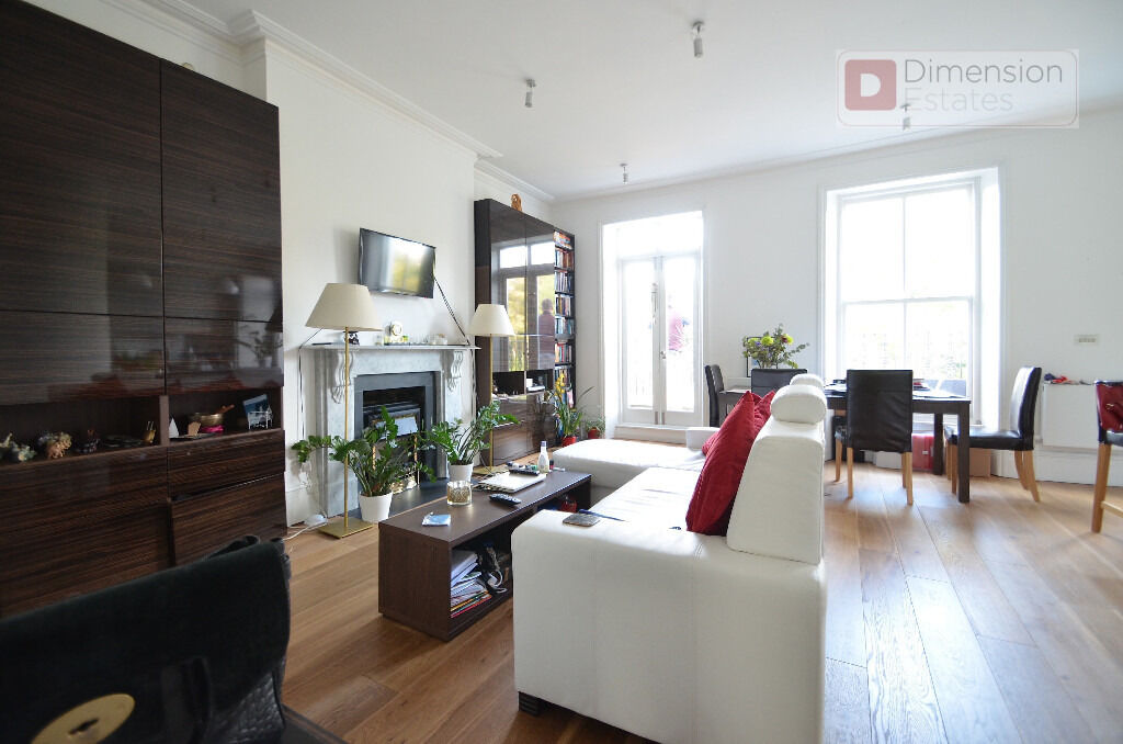 Stunning 2 bed 2 bath Georgian Conversion with roof terrace for £3,000p/cm in Highbury new park