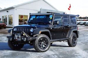 2015 Jeep WRANGLER UNLIMITED WILLY'S | REDUCED | 6-SPEED | AIR |
