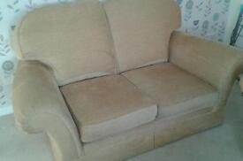 TWO TWO SEATER SETTEES