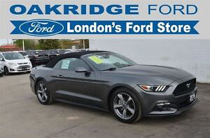 2016 Ford Mustang V6, 051A, Convertible, Remote Start, Automatic