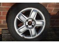 Pair of Renault Clio MkII Wheels