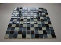 Glass Mosaic Wall tiles (RRP £25 per pack)