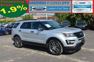 2016 Ford Explorer SPORT 4WD LEATHER MOONROOF NAVIGATION