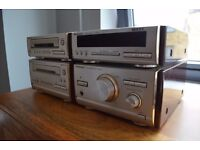 Technics HD-501 4 piece Hi-Fi stereo system + speakers. Fully working