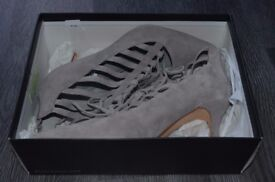 LADIES DUNE LONDON UK SIZE 6 STRAPPY GREY SUEDE SHOES USED WORN JUST ONCE!