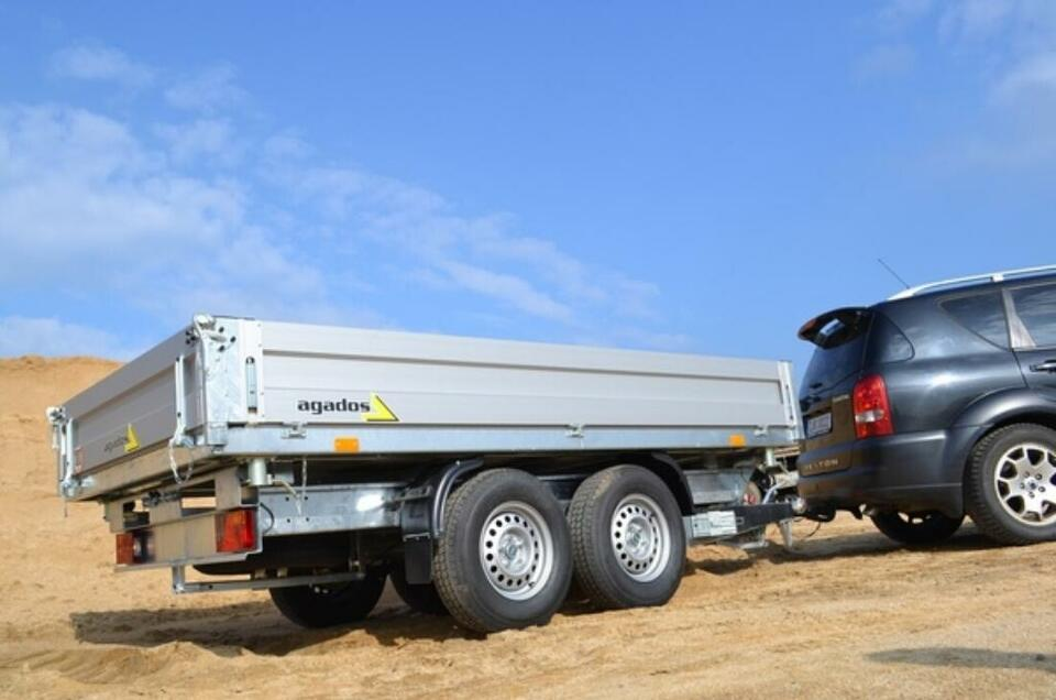Agados Anhänger Atlas 2700 B2 Dreiseiten-Kipper 2700 kg in Weiden (Oberpfalz)