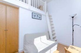 DUPLEX Studio Apartment with SEPARATE Kitchen and EN-SUITE Shower in West Kensington