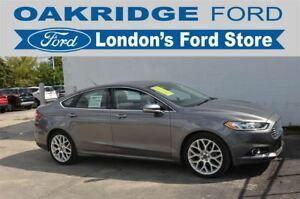 2014 Ford Fusion ONE OWNER, LOADED, HEATED LEATHER TRIMMED SEATS