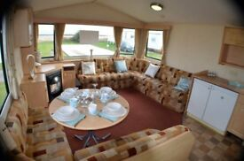 Sited Static Caravan For Sale at Southerness Holiday Park nr Dumfries Scotland