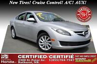 2013 Mazda Mazda6 GLS New Tires! Bluetooth! Cruise Control! A/C!
