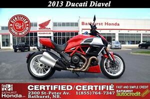 2013 Ducati Diavel An irresistible 162 hp adrenaline rush!!