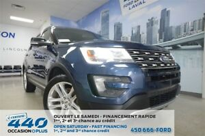 2016 Ford Explorer | 3.5L XLT AWD, NAVIGATION, ROUES 20