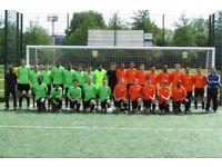 FIND SOCCER IN LONDON, PLAY SOCCER IN LONDON, JOIN SOCCER TEAM ; 1 1 aside football team uk