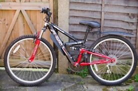 Apollo Fs 24 Inch Wheeled Boys Mountain Bike